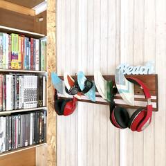壁紙/壁面/フィン/コートハンガー/西海岸インテリア/DIY/... サーフボードフィンの形をコートハンガーに…