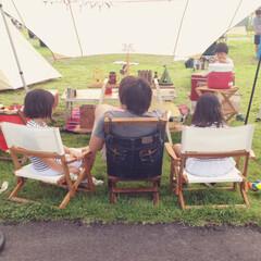 キャンプ/ニトリ キャンプ好き家族⛺️暑いけどやっぱり夏の…
