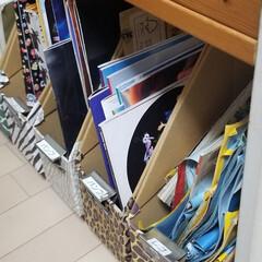 収納/映画のパンフレット/レゴ/絵本棚/ファイルボックス/100均 絵本棚の下は100円ショップのファイルボ…