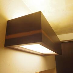照明/アンティーク/レトロ/インダストリアル ウォールナットで作ったオリジナル照明