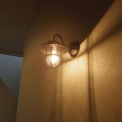 玄関/照明/アンティーク 玄関照明(1枚目)