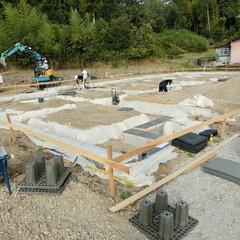 オーガニックハウス/滋賀/スーパージオ工法/免震/液状化/地盤改良/... 東近江市にてスーパージオ工法を施工しまし…