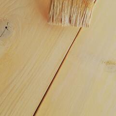 ハンドメイド家具/コンソールテーブル/簡単DIY/DIY/リビング/セリア ディスプレイ用のコンソールテーブルが欲し…(6枚目)