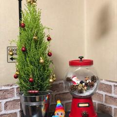 キャンディポット/ツリー/リース/クリスマスインテリア/100均/ダイソー/... 今日、ダイソーやセリアで、クリスマスグッ…(4枚目)