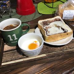 美酢/コストコ/朝食/100均/セリア/アマゾン 今日の朝食 昨日買って来たパンに、セリア…