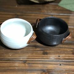 陶器/おうちごはん 以前フリマだったかな⁉️別々のところで買…