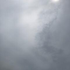 台風 なんか、雲行きが🌀😅 暗くなって来たし💦…