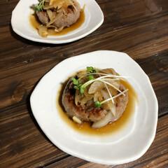 晩ご飯/台風 昨晩のご飯 ポテトサラダ、何故か急に旦那…(3枚目)