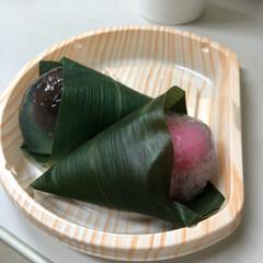 和菓子/水まんじゅう/おまんじゅう 今日はシフト変更があり、遅番。 えへへっ…