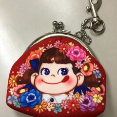 がま口/ペコちゃん/台風 ペコちゃんのがま口財布👛 ちょっと買い物…