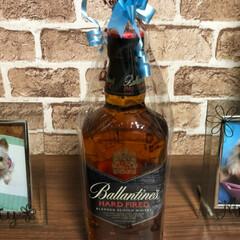 ウイスキー/キャンドル/ハーバリウム/旦那/誕生日/プレゼント 旦那さん行きつけの店で、誕生日会をして頂…(5枚目)