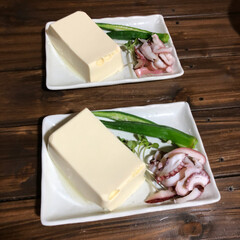 晩ご飯/台風 昨晩のご飯 ポテトサラダ、何故か急に旦那…(2枚目)