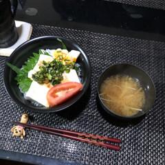 丼/おうちごはん/晩酌 今日の晩ご飯は😁 画像1枚目:🍺おつまみ…(2枚目)