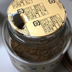 インスタントコーヒー インスタントコーヒーのフタ開けて、この中…(2枚目)