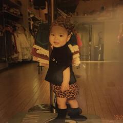 懐かしの/息子 息子1歳前😍 この頃ハマっていたお洋服屋…