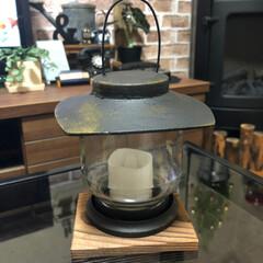 ランタン/インスタントコーヒー/空き瓶リメイク/雑貨 先日のマキシムコーヒー空き瓶でランタン3…