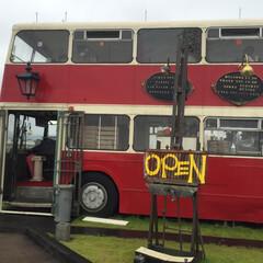 岡山市 岡山市にある二階建てバスを改装したカフェ…