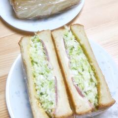 サンドウィッチ/サンドイッチ/昼ご飯/沼サン/沼さんサンドイッチ/ランチ/... かな〜り出遅れましたが、最近話題の沼さん…