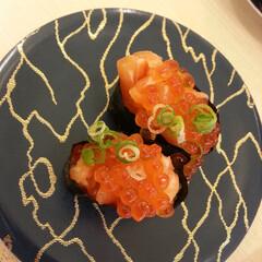 秋/美味しいご飯/北海道/いくら/軍艦巻き/軍艦巻 まるで回転寿司やさんみたい♪北海道から旬…