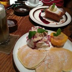 パンケーキ/コーヒー/キャラメルフレンチトースト/フェイバリットカフェ 美味しいコーヒーが飲めるおしゃれなカフェ…