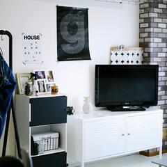 和室を洋室に/元和室/壁紙DIY/モノトーン/IKEA/ニトリ 元和室です。