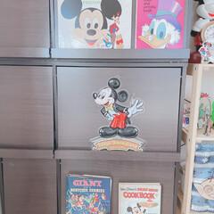木製/古本/レコードジャケット/レコード/ミッキー/ディズニー ディズニーコレクション✨  レコードプレ…(1枚目)