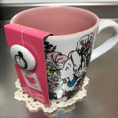 マグ/アリス/ディズニー/紅茶 紅茶用のマグ☕︎