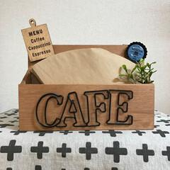 コーヒー/DIY/100均/セリア/ダイソー/コーヒーフィルター/... コーヒーフィルターを袋に入れたままで使っ…