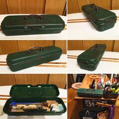 サビ加工/アーチ型ハンドル/キッチン雑貨/DIY/雑貨/100均/... セリアのプラスチックboxにアーチ型ハン…