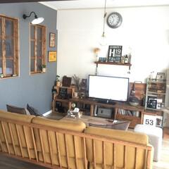窓枠DIY/棚DIY/テーブルDIY/テレビボード/ステンシル/モモナチュラル 窓、テーブル、棚、テレビボードなどなどD…(1枚目)