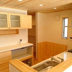 無垢/キッチン/ぬくもり ~無垢の木のキッチン~ 無垢の素材によっ…