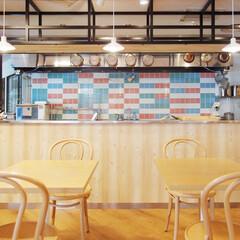 キッチン/スクール/カフェ風/カラフル/ポップ/北欧/... 食に関するサービスをトータルサポートする…
