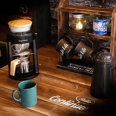 アピックス/コーヒーメーカー/カフェ/カフェのような家/木の家 ちょっと変わったコーヒーメーカー アピッ…