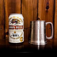 一番搾り/ビール 一番搾り ビール工場で「二番搾り」を飲ん…