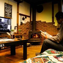 サイエンスホーム/栃木県/木の家/宇都宮/薪ストーブのある家/昼下がり まったり昼下がり♥️ ポカポカ薪ストーブ…