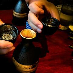 日本酒/徳利/金箔 金箔?が練り込んである徳利。 お酒も一味…