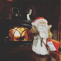 栃木県/木の家/宇都宮/薪ストーブのある家/サンタクロース 今年も1ヶ月たらず…早いですね🎵 もうす…