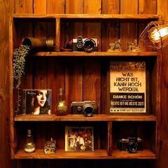 飾り棚/カメラ/ディスプレイ 飾り棚 ディスプレイを変えて気分転換