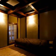新築/リフォーム/宇都宮/木の家づくり/木の家/スギ床/... 素材にこだわった寝室です。 快適な睡眠の…(2枚目)