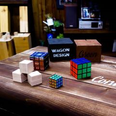昭和/ルービックキューブ 四角い物を集めました 平成も終わりなのに…