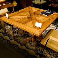 ブルックリンスタイル/ROUGH&TOUGH/木の家具 住宅イベントで素敵なテーブル&チェアーを…