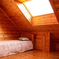 ログハウス/木の家/木の香り 優しい陽の光と木の香りが心地よい空間