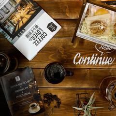 宇都宮/カフェ風/コーヒーのある暮らし/コーヒー 美味しいコーヒーでホッと一息。 本屋さん…