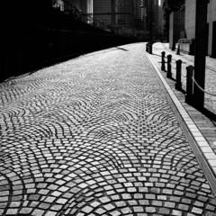 カメラ/ヨーロッパ/石畳 ヨーロッパの石畳のイメージ こんな雰囲気…