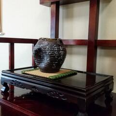 唐揚げ/お宝/壺/石臼/蕎麦 とある蕎麦屋さんに飾ってあった壺 もしか…