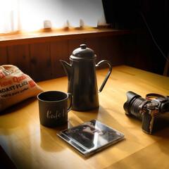コーヒー/宇都宮/木の家/仕事中/ノラジョーンズ ノラジョーンズを聞きながら、ホッと一息な…