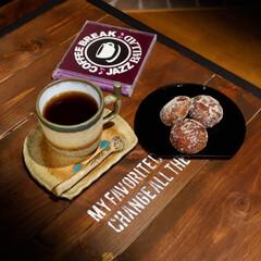 懐かしい味/宇都宮/本橋製菓/コーヒーのある暮らし/コーヒー/あんドーナツ 子供の頃良く食べた懐かしい味 結構カロリ…