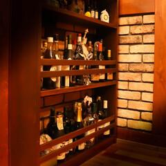 木の家/カルチャードブリック/ホームバー/ブルックリンスタイル 木とオールドタイル 素敵なホームバーコー…