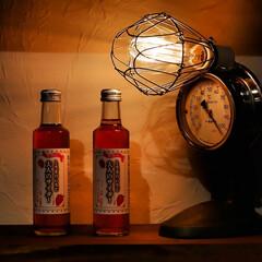 アンティーク風ランプ/木の家/宇都宮/イチゴ/栃木県/大人のサイダー/... 大人のサイダー ワゴンセールで、半値なの…