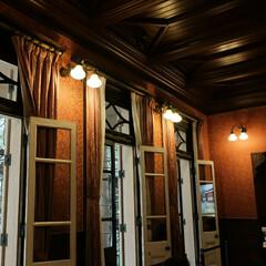 ノスタルジック/壁灯/旧岩崎邸 ノスタルジックな雰囲気です。